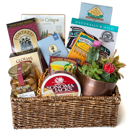 Healthy Snacks Basket