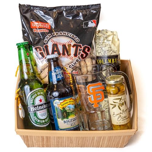 Baby Gift Baskets San Francisco : San francisco giants gift basket
