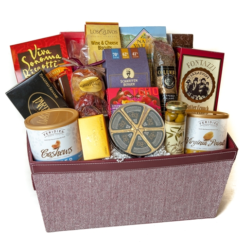 Luxury Snacks Gift Basket