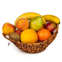 Delicious seasonal Fruit Gift Basket