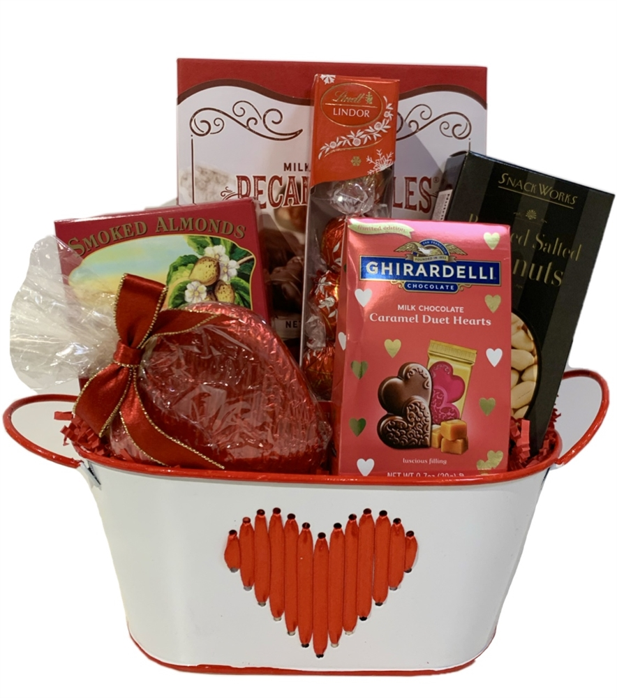 Heart Metal Basket