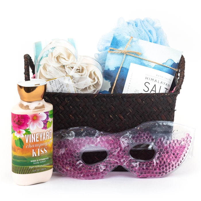 Spa Gift Basket-Give a break to your eyes