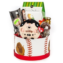 Giants Lover Gift Basket