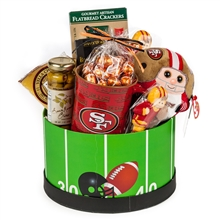 49ers Gameday Gift Basket