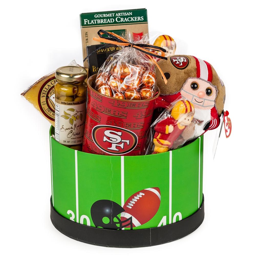 Baby Gift Baskets San Francisco : Ers gameday gift basket