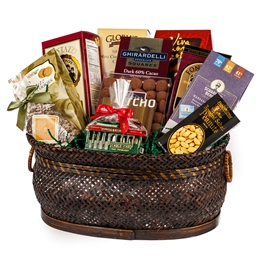 Gourmet San Francisco Gift Basket - San Francisco Gifts By San Francisco Gift Baskets