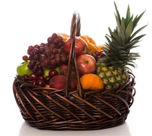 Orchard Fresh Fruit Gift Basket