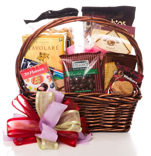 All Occasion Sweets & Savory Gift Basket