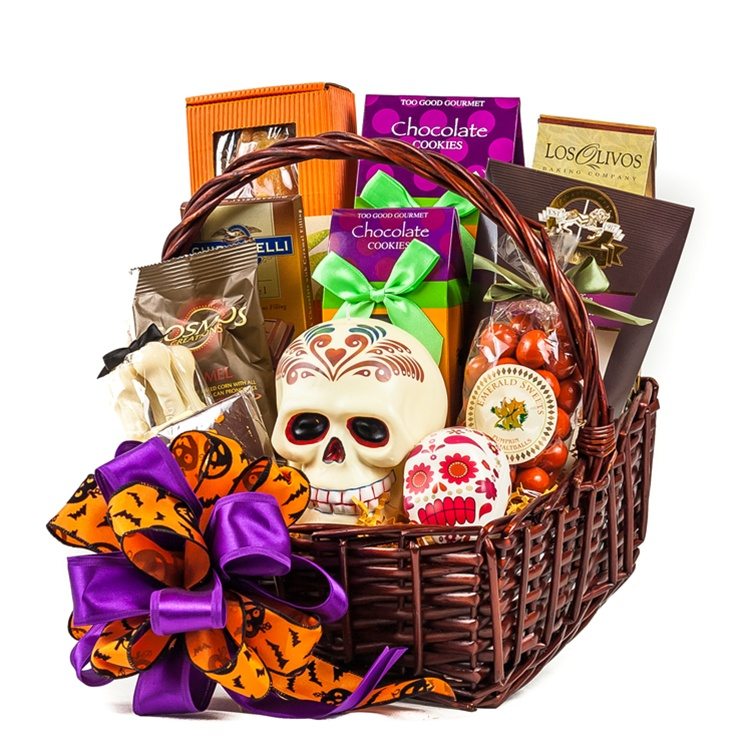 Of the dead gift basket day of the dead gift basket negle Images