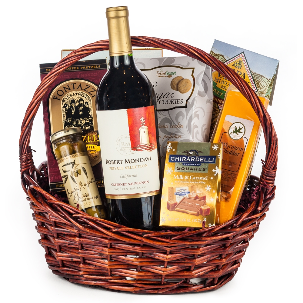 599-2.jpg  sc 1 st  SF Gift Basket & Gourmet Wine Gift Basket