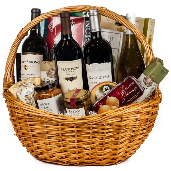 Ultimate Wine Gourmet Gift Basket