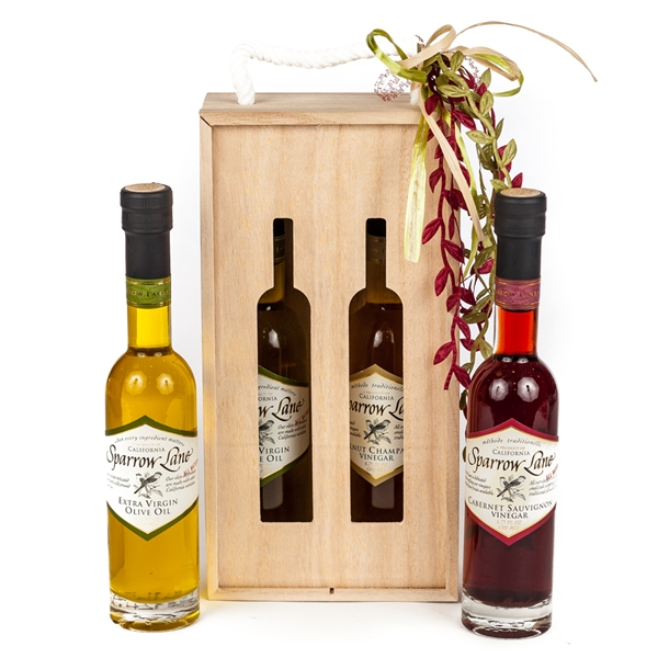Sparrow Lane Olive Oil & Vinegar Gift Bag