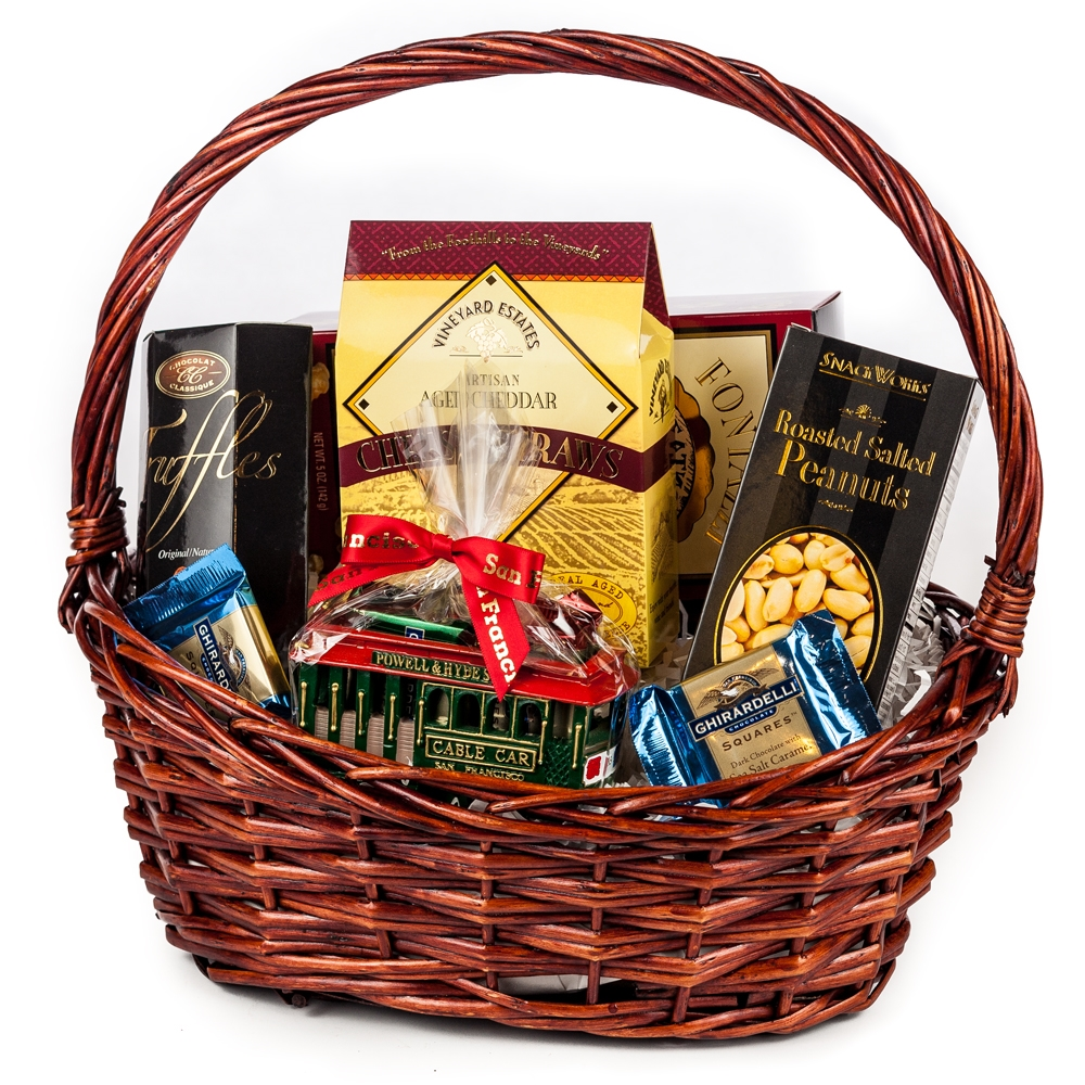 Welcome to san francisco gift basket negle Images