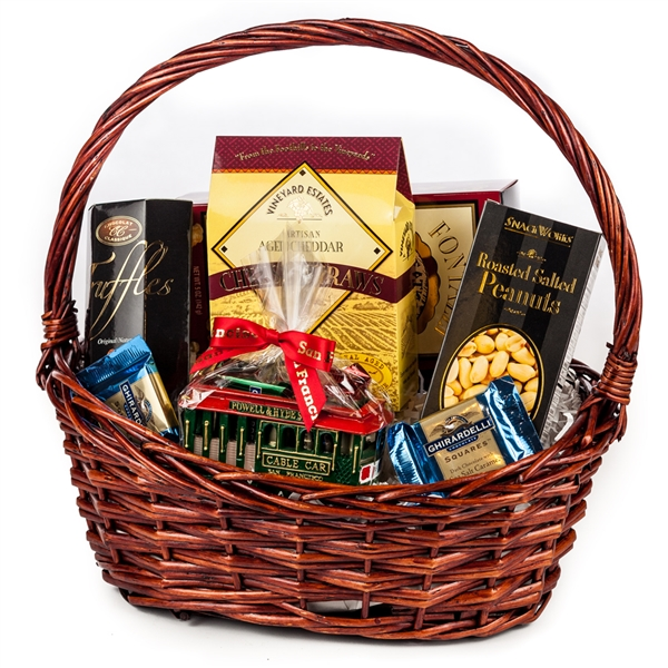 Welcome to San Francisco Gift Basket