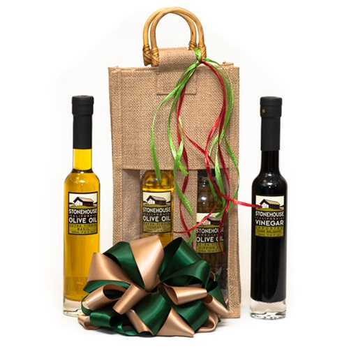 Stonehouse Olive Oil & Vinegar Gift Bag